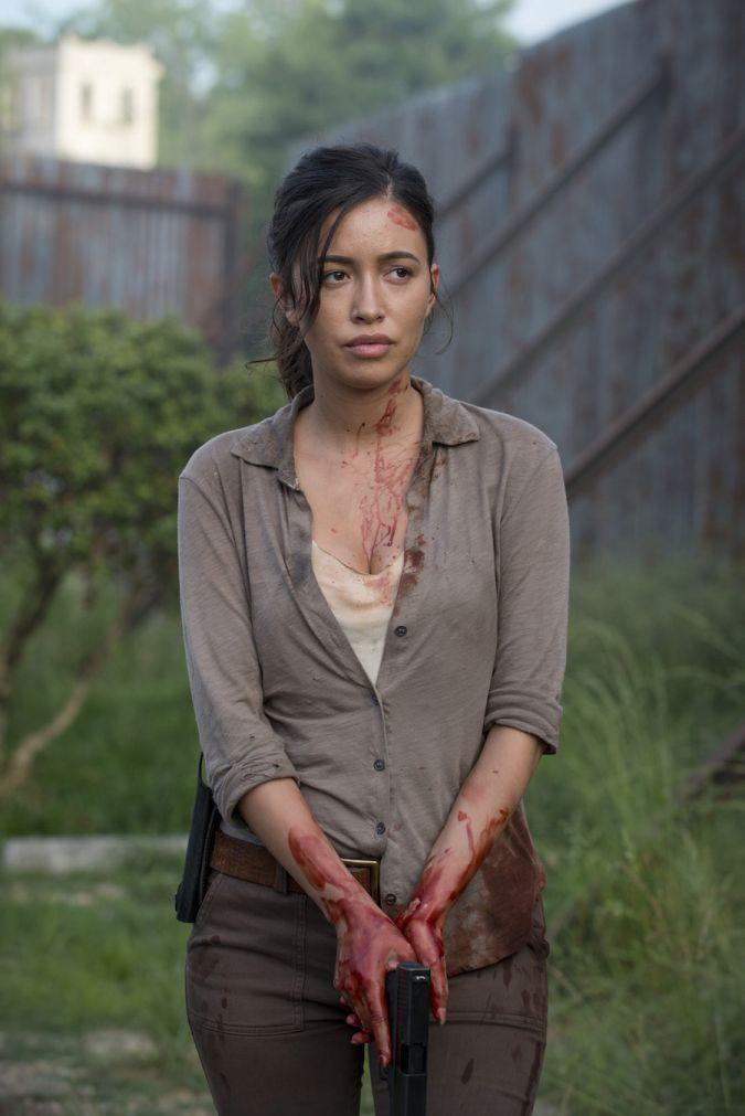 the walking dead rosita temporada 6