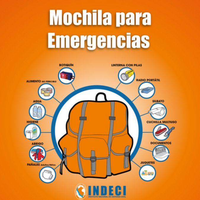 ¿qué es lo que debe tener tu mochila de emergencia?