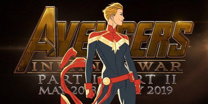 captain marvel avengers infinity war