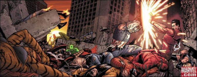 captain america civil war comic marvel
