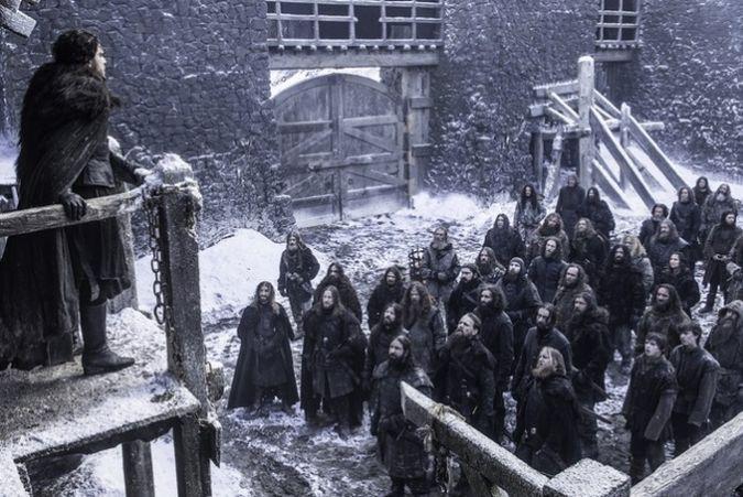 game of throne jon snow vivo temporada 6 episodio 3
