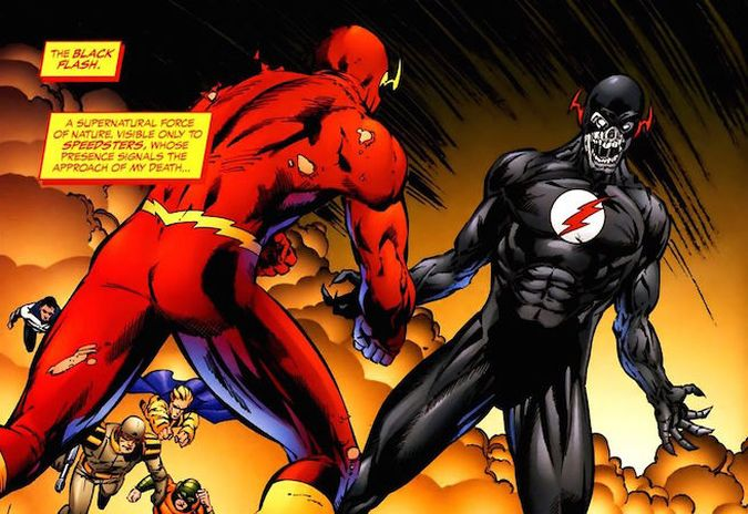 the flash black flash comics