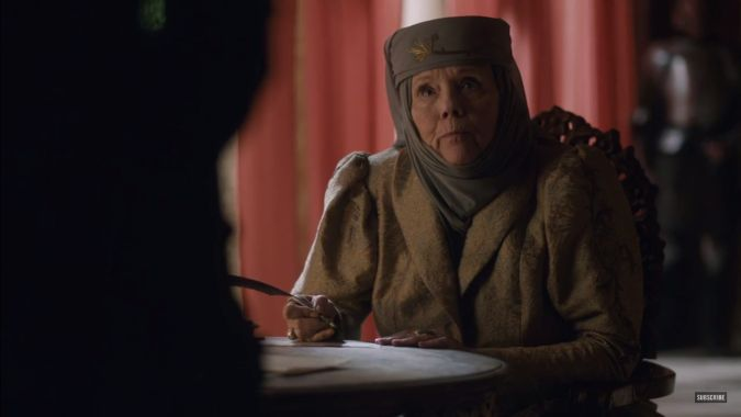 game of thrones temporada 6 episodio 7 olenna tyrell