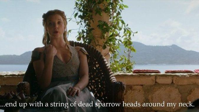 game of thrones margaery gorriones muertos