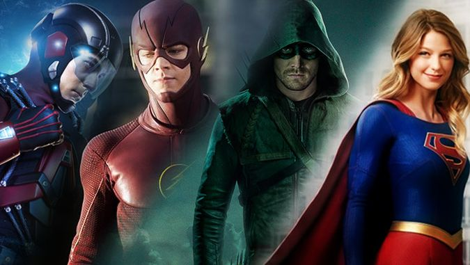 arrow supergirl the flash legends of tomorrow the cw crossover