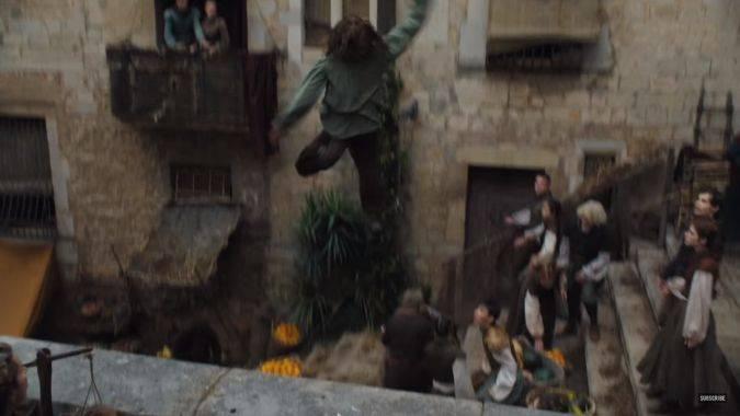 game of thrones arya stark temporada 6 salto