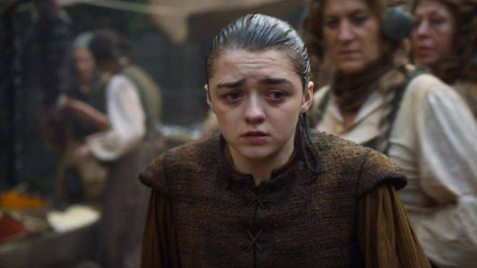 game of thrones arya stark herida