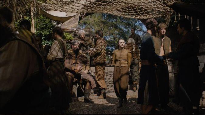 game of thrones arya stark temporada 6 comerciantes