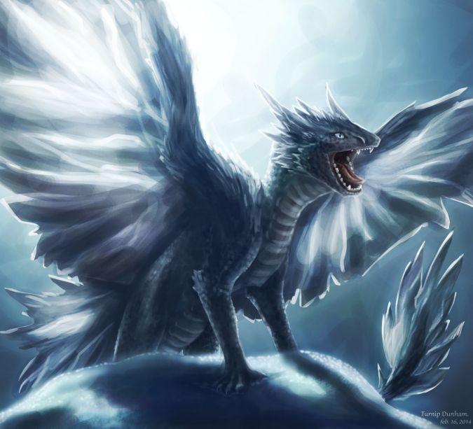 game of thrones dragon de hielo