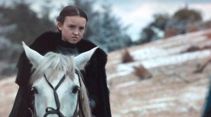 game of thrones lyanna mormont batalla bastardos