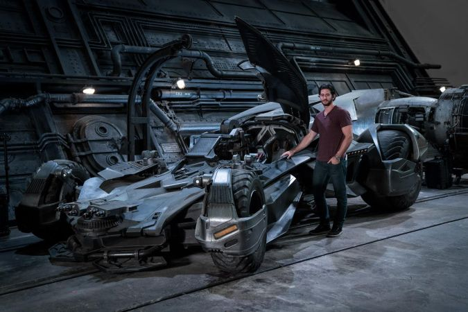 justice league batmobile nuevo