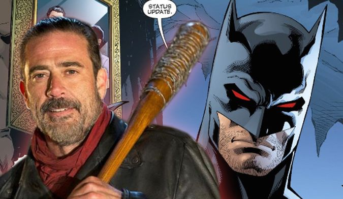 the walking dead negan batman flashpoint thomas wayne
