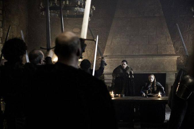 game of thrones jon snow temporada 6 rey en el norte