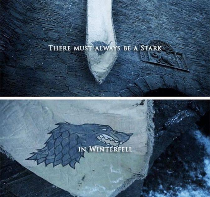 lobo casa stark winterfell batalla bastardos
