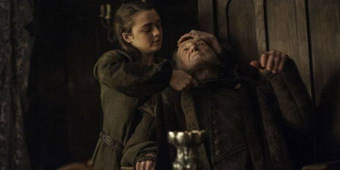 game of thrones arya stark walder frey final temporada 6
