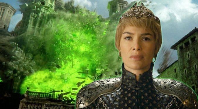 game of thrones cersei lannister fuego final temporada 6