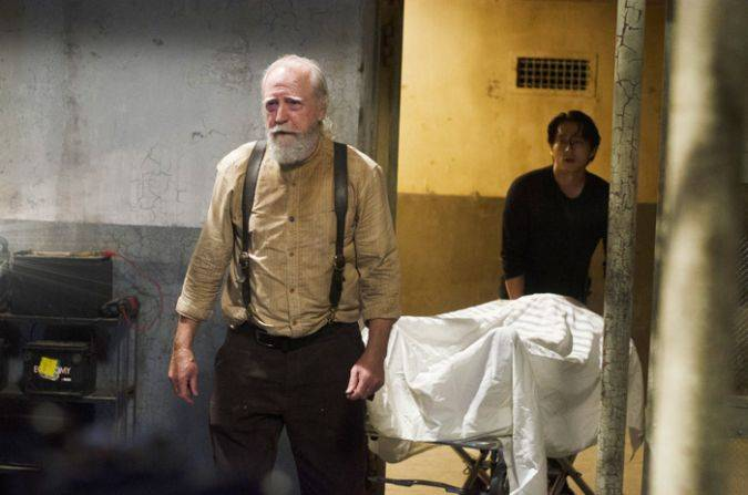 hershel the walking dead glenn