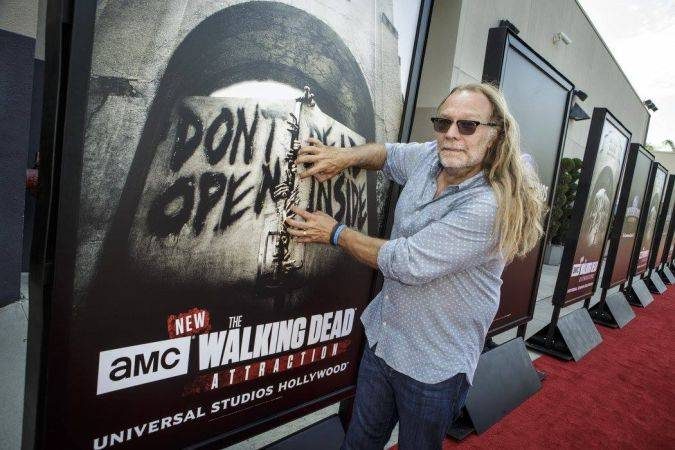greg nicotero the walking dead Universal Studios Hollywood