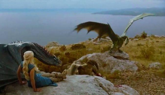 game of thrones daenerys dragones rhaegal