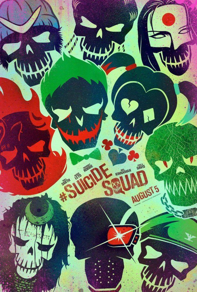 suicide squad poster pelicula