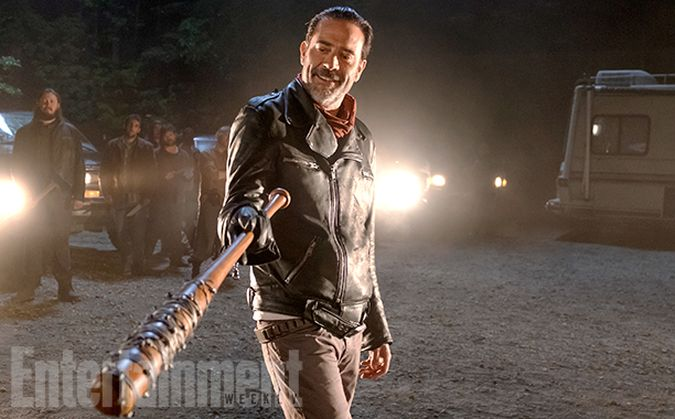 the walking dead negan foto temporada 7
