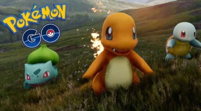 pokemon go charmander squirtle bulbasur