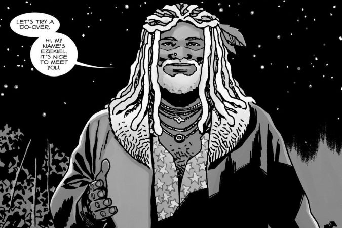 the walking dead ezekiel comic
