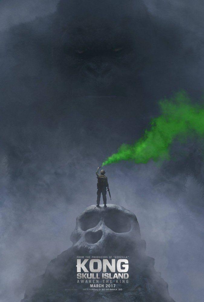 kong skull island poster pelicula