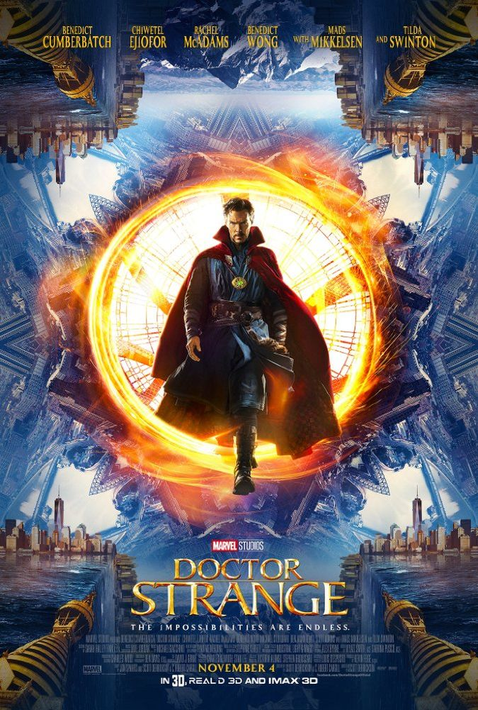 doctor strange poster pelicula marvel
