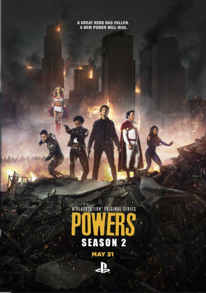 powers poster temporada 2
