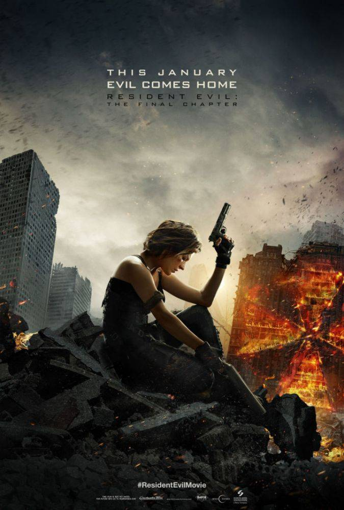 resident evil the final chapter nuevo poster