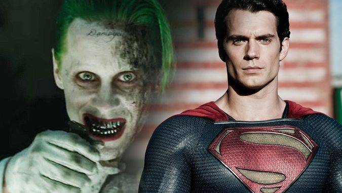 suicide squad joker superman