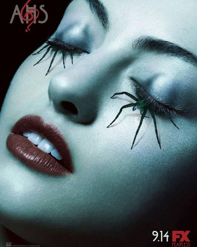 american horror story temporada 6 poster arañas