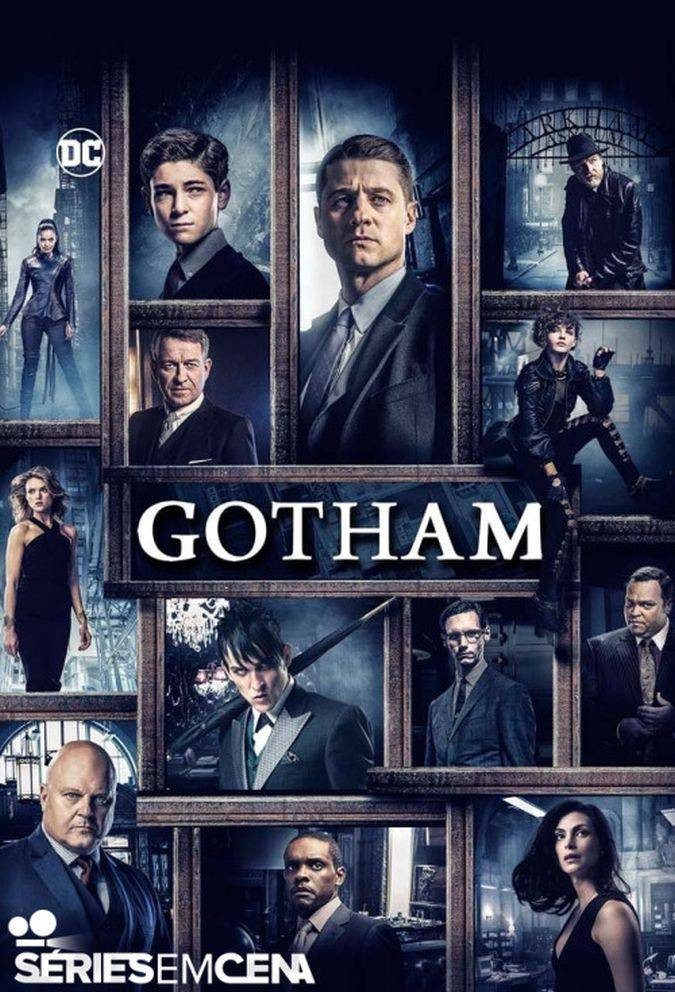 gotham temporada 3 poster