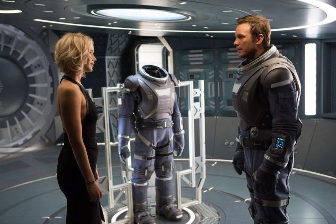 Passengers Jennifer Lawrence Chris Pratt