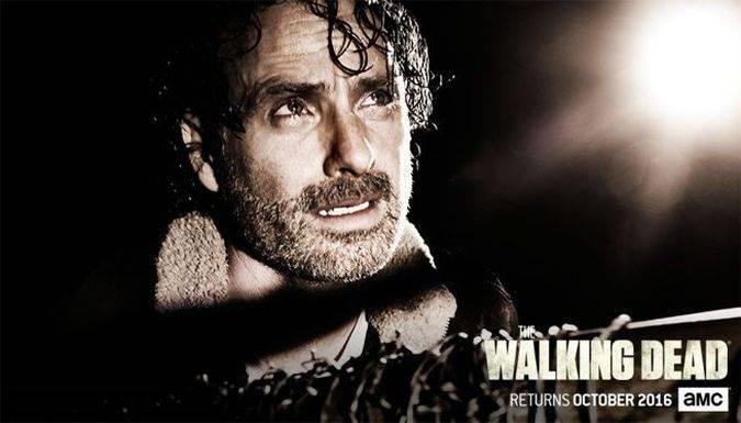 the walking dead temporada 7 rick negan
