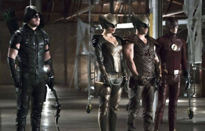 crossover the flash arrow the flash supergirl legends of tomorrow