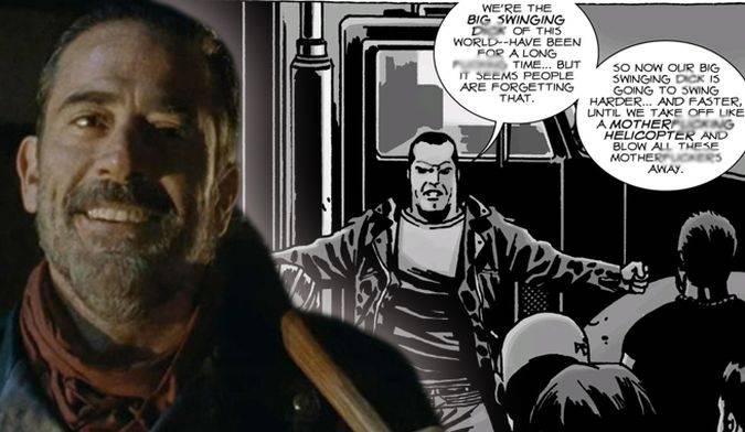 the walking dead negan temporada 6 comic
