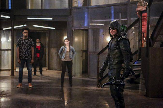Arrow Temporada 5 The CW