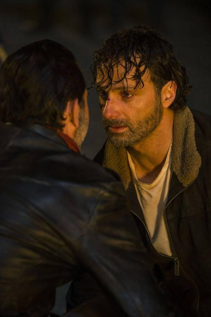 the walking dead temporada 7 negan rick