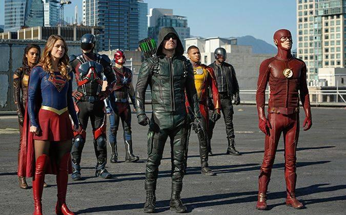 the flash supergirl arrow legends of tomorrow