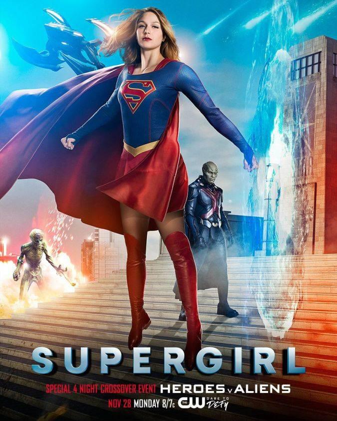 Supergirl Temporada 2 Crossover