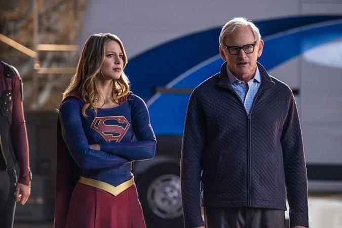 supergirl crossover martin stein