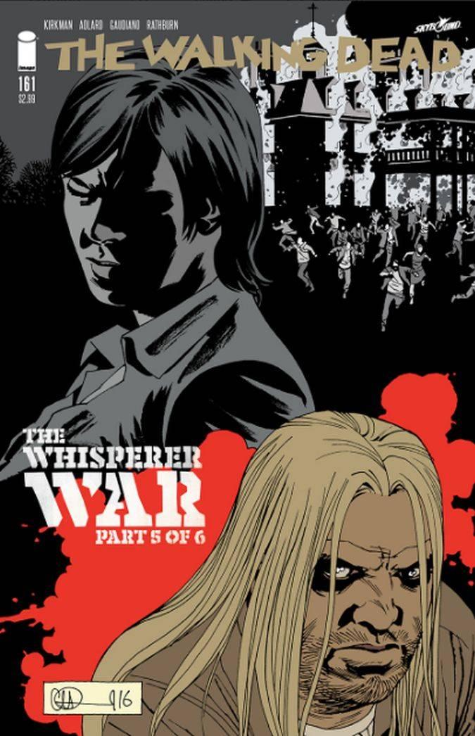 the walking dead 161 comic hilltop the whisperer war