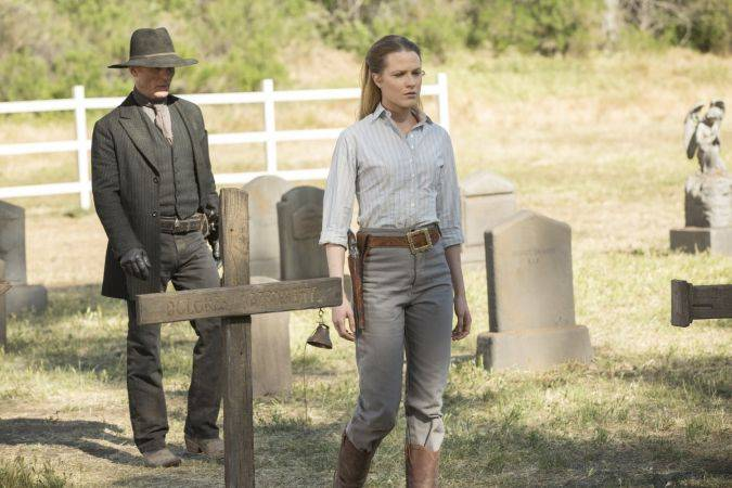 westworld 1x10 man in black dolores