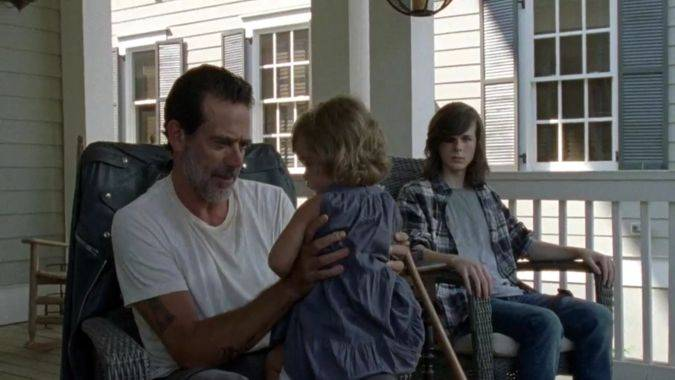 the walking dead 7x07 judith grimes