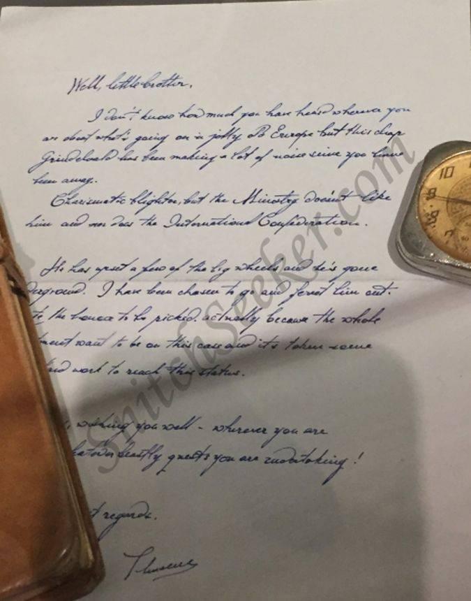 fantastic beasts carta theseus hermano newt scamander