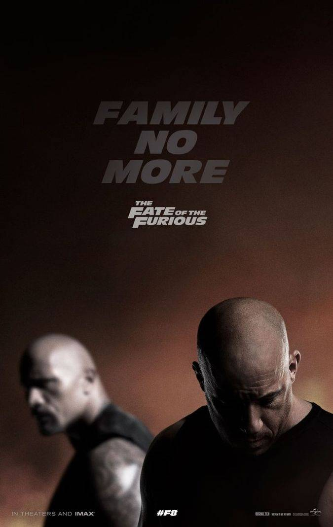 the fate of the furious poster fast and furious 8
