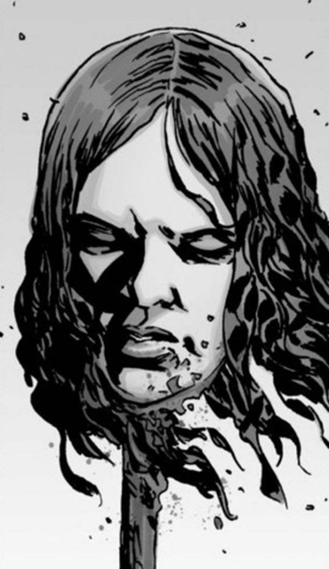 the walking dead olivia muerte comic