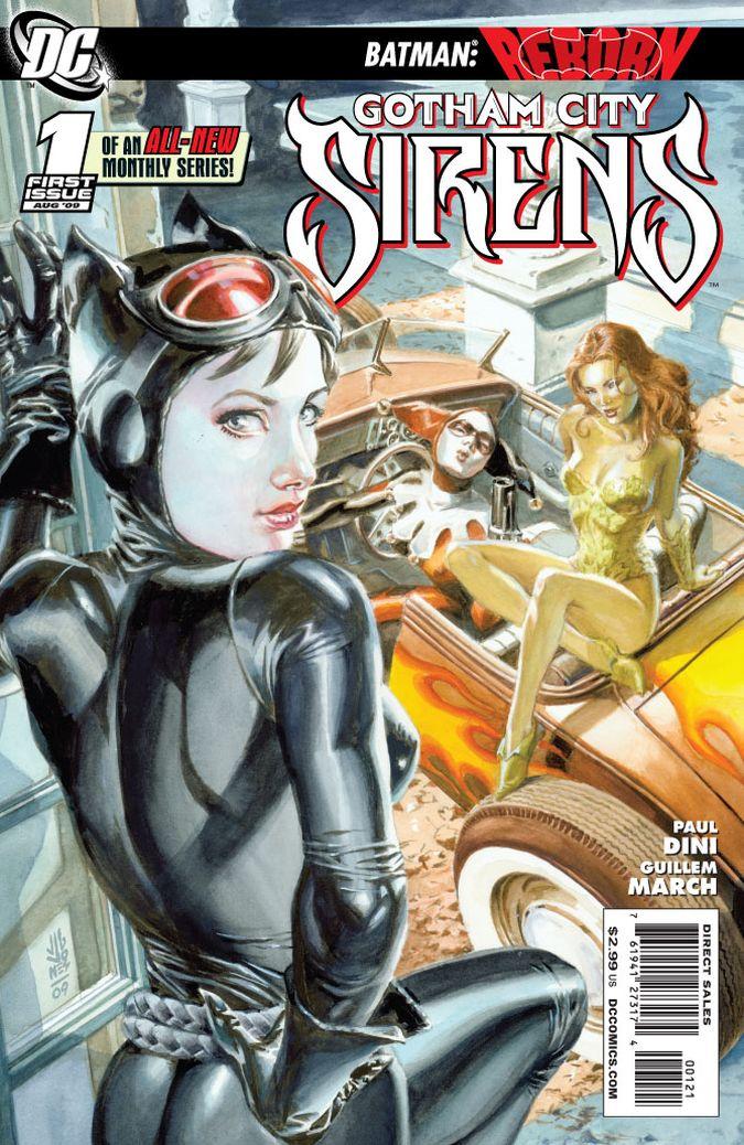 Gotham City Sirens comic